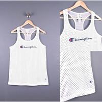 Champion Tanktop Sport Men BIGSIZE - Singlet Olahraga Pria JUMBO SIZE