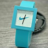 nike jam tangan premium rubber segi pria wanita kids anak