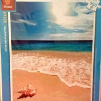 Jigsaw Puzzle Pintoo 500 pcs Seashell in the beach