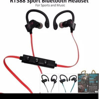 Headset Bluetooth RT-558 Sport Earphone RT558 Wireless Universal