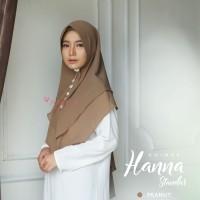 Khimar Hanna Standar PEANUT Amily Hijab Bahan Soft Georgette