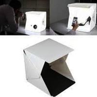 Studio Mini Foto Box LED Photo Mini Studio Magnetic Produk Online Shop