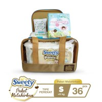 Sweety Gold Pants Birth Package S