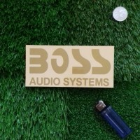 Harga boss audio sound system decal cutting sticker mobil | antitipu.com