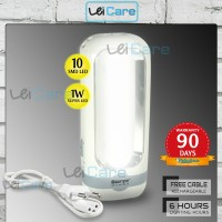 Surya Lampu Emergency Senter LED 1W Super Terang L01x LED 10 SMD