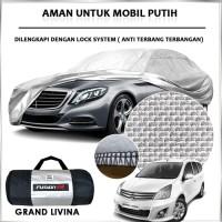 Cover Mobil / Sarung GRAND LIVINA Merek FUSION R / Cover Mobil Putih