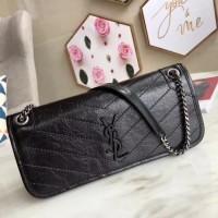1fac9d2af7 YSL Niki Clutch 28cm Black / Tas / Dompet Pesta Wanita Branded