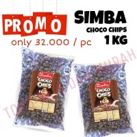 Simba Choco Chip Cereal / Simba Sereal / Koko Coco Crunch Chips 1 kg