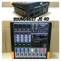 Harga mixer audio karaoke 4 channel soundbest js   Pembandingharga.com
