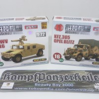Model kit 1/72 Opel Blitz Kfz. 305 & Humvee M1046 TOW Carrier
