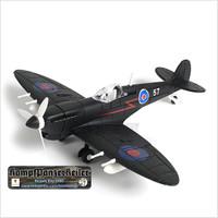 Model kit pesawat skala 1/48 Spitfire Mk V/trop night fighter variant