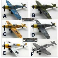 Model kit pesawat skala 1/48 Messerschmitt Bf 109 G-2 trop variant