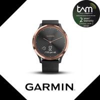 Garmin Vivomove HR Black Rosegold Garansi TAM 2 Tahun