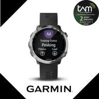 Garmin Forerunner 645 Music Black Stainless - Garansi TAM 2 Tahun