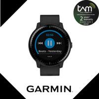Garmin Vivoactive 3 Music Sport Black Garansi TAM 2 Tahun