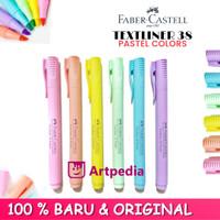 Faber-Castell Textliner 38 Pastel Colour Highlighter /Stabilo -Satuan