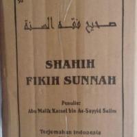 Buku Shahih Fikih Sunnah 1 Set 4 Jilid