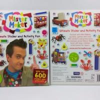 Harga mister maker ultimate sticker and activity fun buku import   Pembandingharga.com
