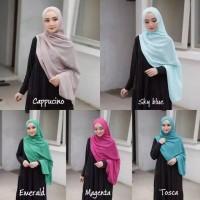 DAILY HIJAB PASHMINA kerudung jilbab simple Sabyan Diamond warna warni