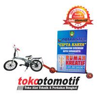 Banner Berjalan ( Bicycle Advertising ) advertising bikes