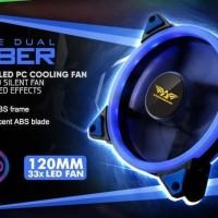 Fan Casing Armaggeddon Azure Saber 12cm Blue