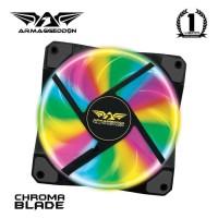Fan Casing Armaggeddon Chroma Blade 12cm 4 Color