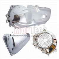 Aksesoris Paket Cover CVT Filter Kipas Bat fi - Scoopy fi Chrome