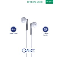 Earphone/Headset In-Ear MD-M5-OPPO Official Accessories (Garansi)