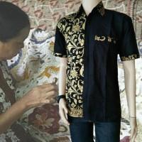 Harga batik kadipaten model baju batik pria lengan pendek | antitipu.com