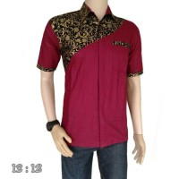 Harga batik kadipaten model kemeja batik pria | antitipu.com