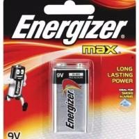 Baterai kotak energizer Max / battery 9 v