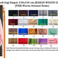 BEST MODEL JILBAB BARU BAGUS khimar wolfis jumbo jilbab segiempat wol