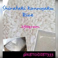 Low Carbs Shirataki Konnyaku Rice/ Beras Shirataki Rendah Kalori 250gr