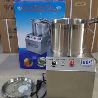 Universal Fritter Food Processor Mesin Giling Bumbu Full Stainless 6 L
