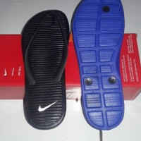 Sandal Sendal jepit flipflop NIKE Solarsoft Original Black with box