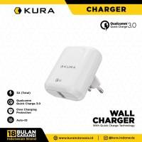 KURA Wall Charger Quick Charge 3.0