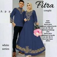 Harga spesial baju muslim pasangan cp fitra baju couple family   antitipu.com