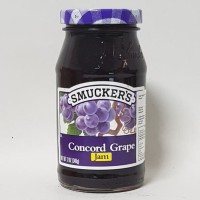 SMUCKER'S CONCORD GRAPE JAM 340 GR