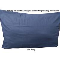 PM-Sarung Guling 100 cotton lady americana king koil hotel besar