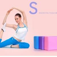Balok Yoga Brick Block Gym Fitness Olahraga Sports Senam Pilates Hamil