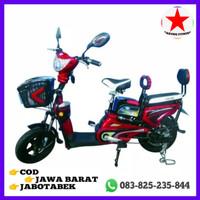 Harga sepeda listrik super rider bergaransi satu | Pembandingharga.com
