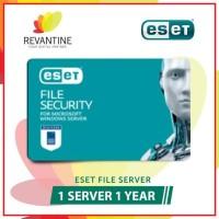 Best Seller Sofware Antivirus ESET File Security 1 Server 1 Year