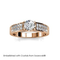 Lush Ring - Cincin Crystals Swarovski® by Her Jewellery