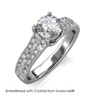 Charming Ring - Cincin Crystals Swarovski® by Her Jewellery