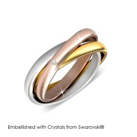 3 Realms Ring - Cincin Crystals Swarovski® by Her Jewellery