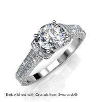 Eve Ring - Cincin Crystal Swarovski® by Her Jewellery