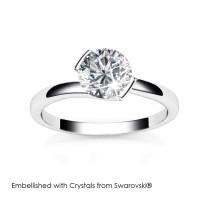 Huggy Ring - Cincin Crystals Swarovski® by Her Jewellery