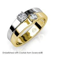 Devoted Ring - Cincin Crystals Swarovski® by Her Jewellery