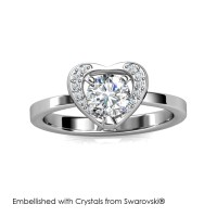 Forever Ring - Cincin Crystals Swarovski® by Her Jewellery