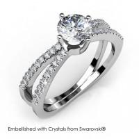 Xena Ring - Cincin Crystals Swarovski® by Her Jewellery
